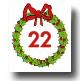 Advent Calendar 24 Days - Day 22