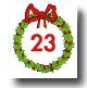 Advent Calendar 24 Days - Day 23