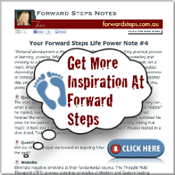 Forward Steps Life Power Notes