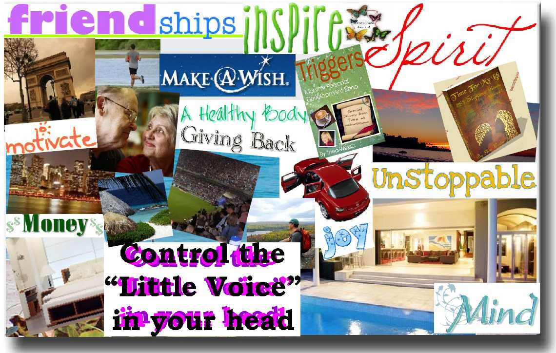 Dreams Online Vision Board