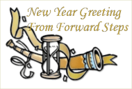 Forward Steps New Year Greeting 2009
