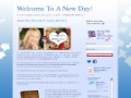 Welcome To A New Day Blog