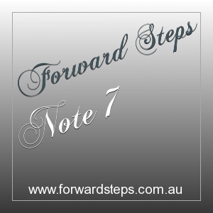 Forward Steps Self Improvement Number 7