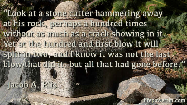 Image-Stone Cutter Quote