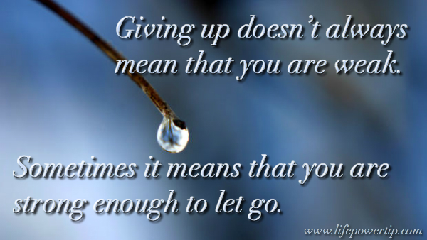Image-Strong Enough To Let Go