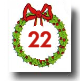 Advent Calendar 24 Days - Day 22