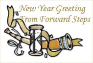 Forward Steps New Year Greeting 2009