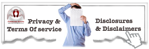 Privacy, Terms Of Use, Disclosures and Disclaimers