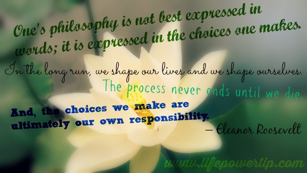 Image-Choices We Make In Life