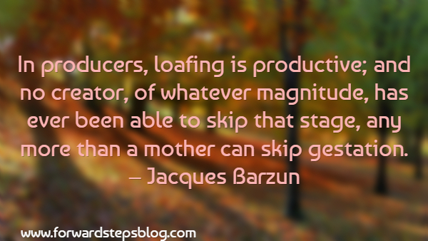 Image-Loafing Is Productive