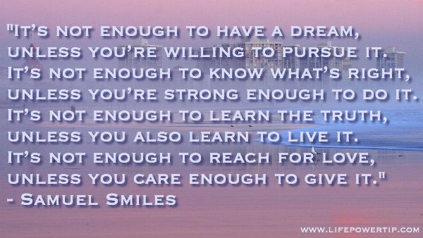 image - Be willing to pursue your dreams